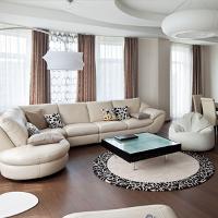 Косметический ремонт гостиной от компании Люкс Рем в Москве
