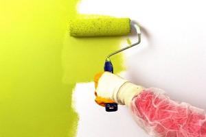 Нанесение краски на обои от компании Люкс Рем в Москве