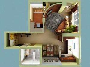 Перепланировка квартиры от компании ЛюксРем в Москве